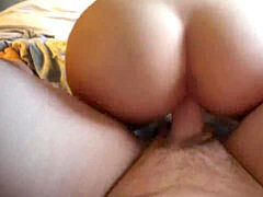 steamy blonde with Bubble Butt Riding/Sucking Big salami