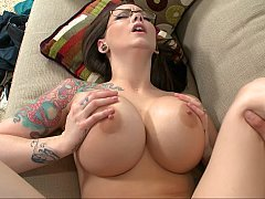 Tatted-up sluts getting plowed on camera