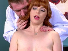 Chiropractor with massive cock fucks Penny Pax' holes to good health