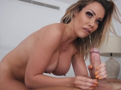 Sex with hot dirty diva who diversifies guy's carnal life