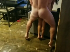 Petit Cuckold Plowed by a Enormous Fellow in Front of me (stranger #5)