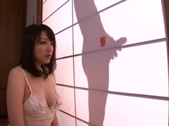 Japanese girl sucks cock at the gloryhole