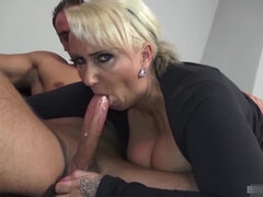 German Mom First Porn