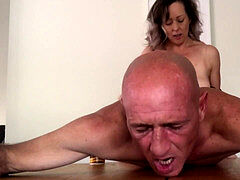 Hard strapon smash - she got smashed too! full length up now - MIN MOO