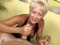 Milfs Offering A New Cock Milking Experience