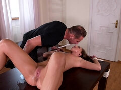 Strapped Bi-Atch Gets Screwed Rock Hard - Amirah Adara