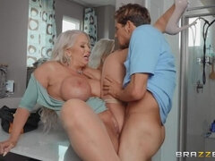 Draining The Plumber's Cock