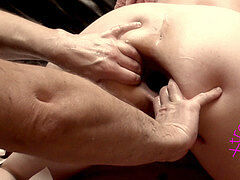 XtremeCplUk enjoy double ass fucking handballing of her Part 3 of five