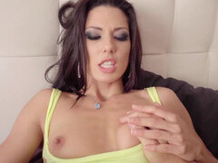 Spanish sex goddess Alexa Tomas takes a heavy-duty fuck from the hung stud
