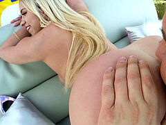 TRUE ANAL Khloe Kapri back for more anal porking