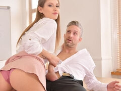 Naughty Schoolgirl's Sex Lesson