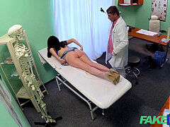 FakeHospital doctor prescribes his cock to help relax ache