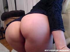 My unbelievable step mom masturbating for me with daddy on the phone