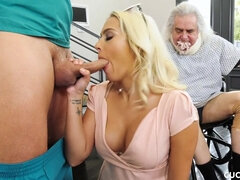 Cuckold On Spouse With His Rehabilitator - Athena Palomino