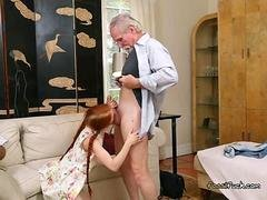 College Whore Dolly Tiny Sucks On Sugar Daddys Ramrod
