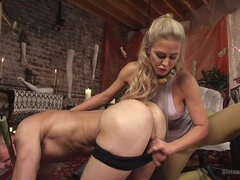Pretty Lil' Fuck Bunny Gets His Dick Sounded and His Ass Fucked by Goddess Cherie Deville