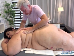 Crystal Blue BBW Massage Porn Video