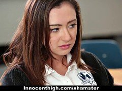 InnocentHigh- Hot Schoolgirl Fucked By Creepy Teacher