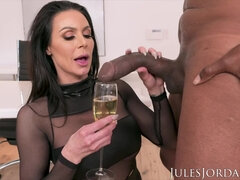Kendra Lust hot cougar interracial sex