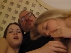 Hot European broad Petite is the master of bj