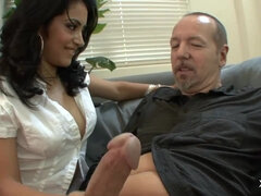 stunning latina girl and her sugerdaddy