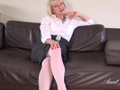 Auntie Louise Wants You to Jerk Off For Her