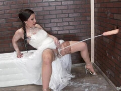 Tereza Bizarre the wedding cum slut