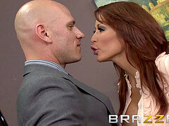 Brazzers - milf Lawyer Monique Alexander gets fucked by apposing counsel