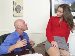 Dani Daniels Office Sex with Johnny Sins