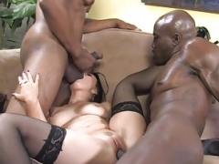 Ally Style Anal And also Double Penetration With Black Penis