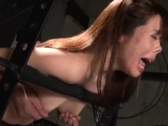 Fetish BDSM whore spanked well