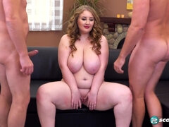 A Three-Way Butt Fucking Party - BBW Tessa Orluv