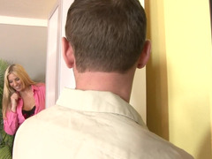 Handyman gives the cougar housewife each and all of his dick