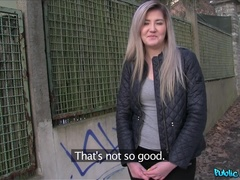 Public Agent (FakeHub): Cute Russian Loves Sex for Cash