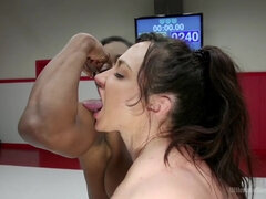 Muscled babes with big natural tits Brandi Bae And Kelly Provocateur