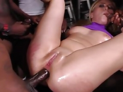 Interracial Team fuck And additionally Rectal - Summer Day