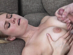 Alluring milf Addie Andrews pounces on her nephew's hard prick