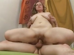 Chubby Old Rectal Fucked