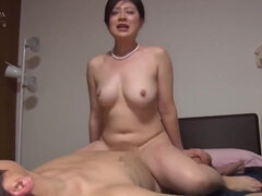 Compilation with Busty Big Butt Japanese Moms - Hardcore Sex with Cumshots