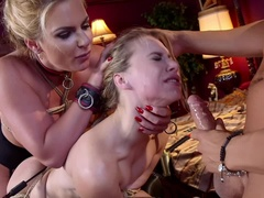 Anal MILF Phoenix Marie Trains Lazy Daughter-in-Law.