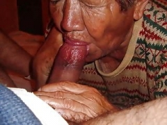 LatinaGrannY Fellation and moreover Granny Sex Compilation