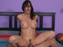 Hot soccer mom Alexis Fawx pleasing young stud