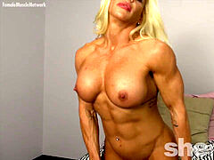 Muscle platinum-blonde solo