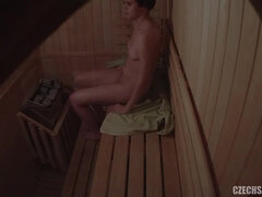 Naked Girls In Sauna - Spycam Video