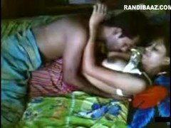 Desi Red Salwar Babe Fucked By Her Lover