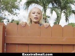 ExxxtraSmall - Cock Crazed Spinner Caught Spying