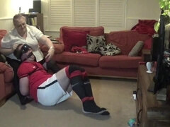 Real Bondage, Bound and Gagged really Tight
