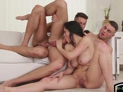 open-minded guys and a chick video feature 1