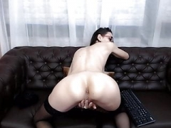 web camera european skinny girl saggy boobs
