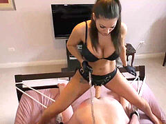 spanked butt ruined ejaculation and many femdom Mistresses